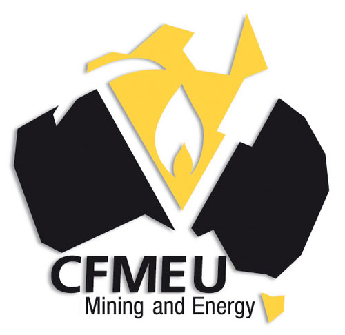 CFMEU Mining and Energy logo